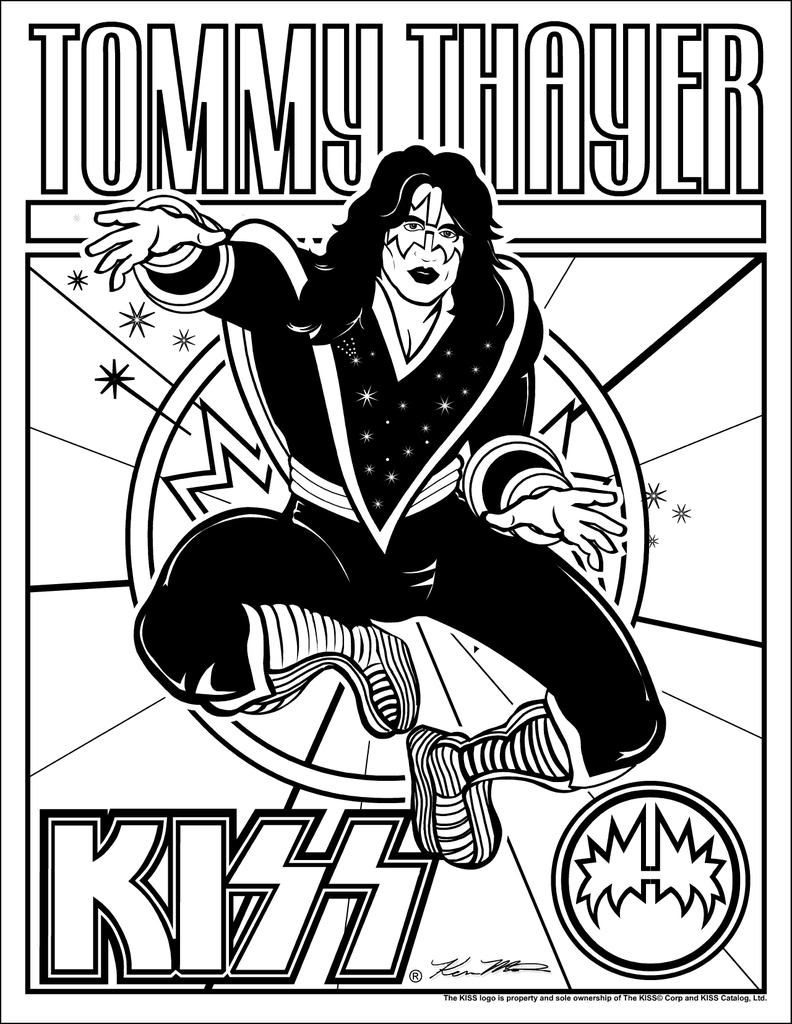 Coloring pages kiss - Re Do People Hate Tommy And Eric Outside Internet
