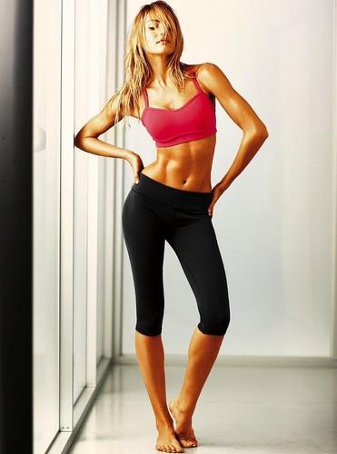 Victoria's Secret Workout Photoshoot