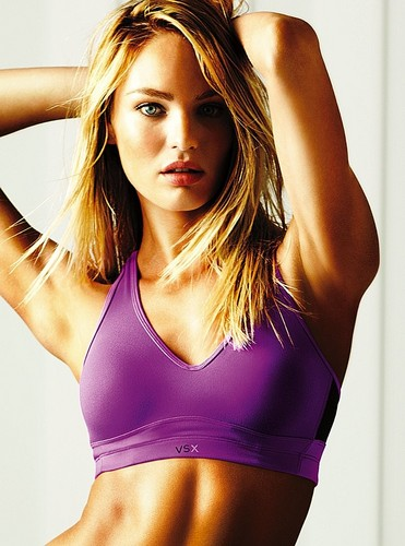 Victoria's Secret Workout Photoshoot