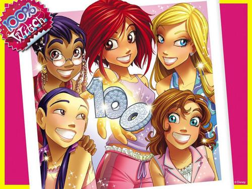 Журнал Винкс и WITCH-лучшие друзья!№6 и игра для девочек!