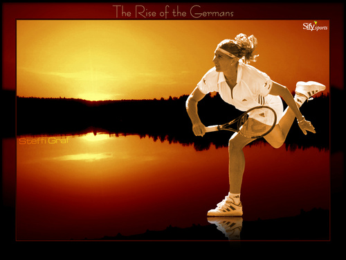 Steffi Graf in Rise Of The Germans