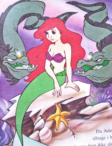 Walt Disney sách - The Little Mermaid
