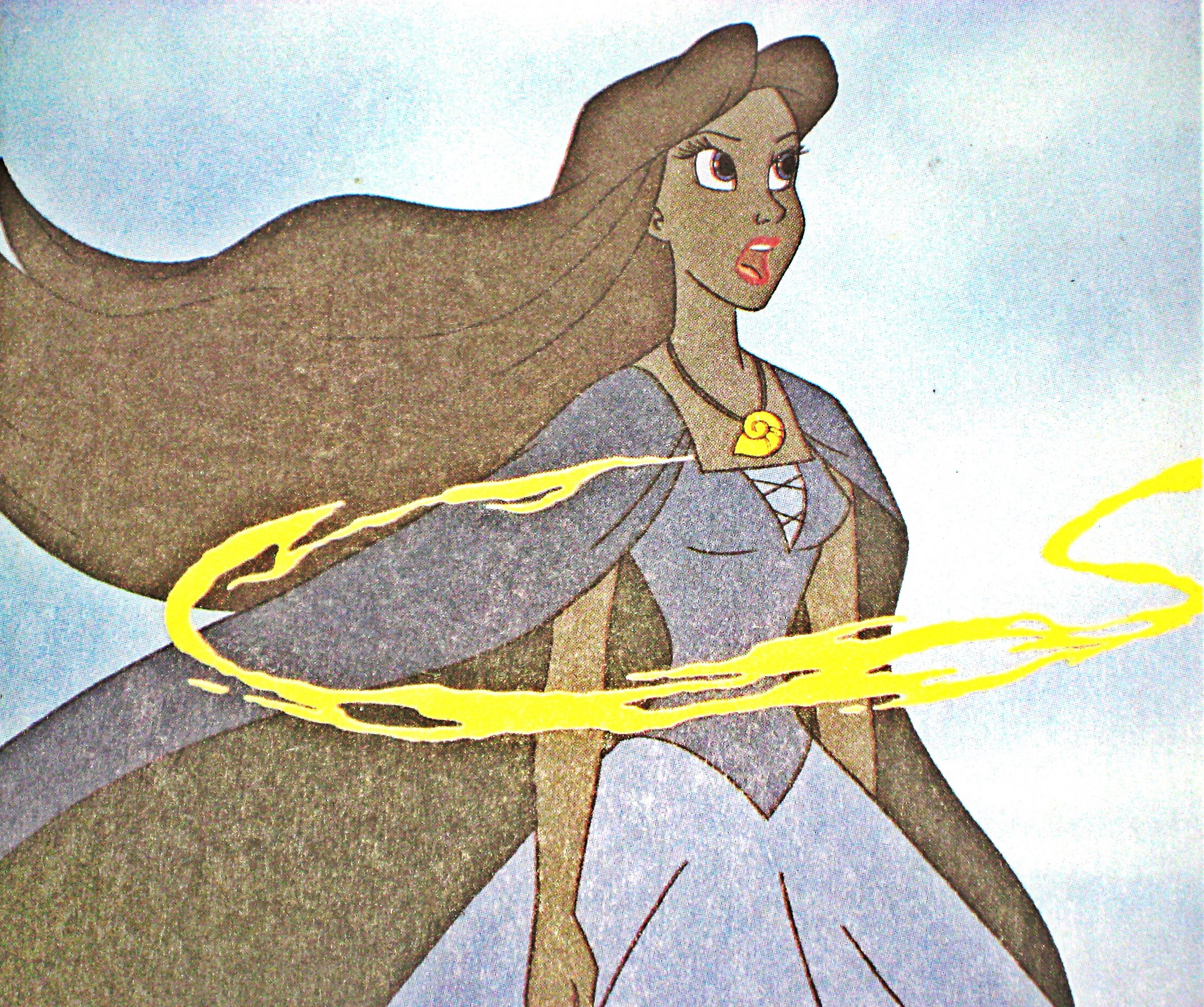 ... - Vanessa From The Little Mermaid Walt Disney Coloring Pages Vanessa
