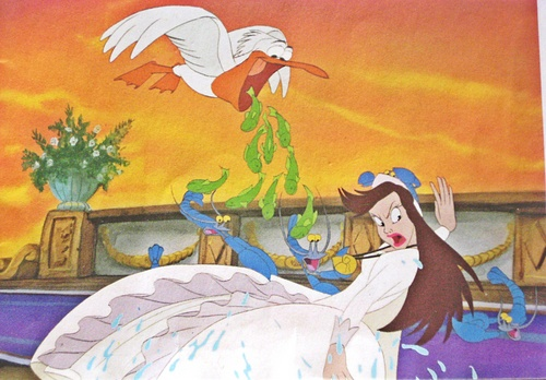 "Vanessa from ""The Little Mermaid"" wallpaper possibly containing anime entitled Walt Disney Production Photos - Vanessa"
