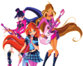 Winx Rock On!!! - musagirl28 photo