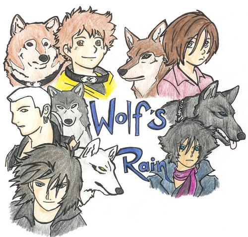lobo pack of Wolf's Rain