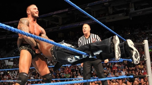 wwe Smackdown Randy Orton Vs R truth 29th-jul-11