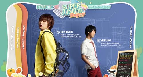 Yesung and Eunhyuk
