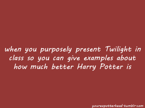 আপনি Know You're a Potterhead When...