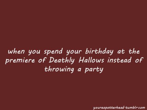 आप Know You're a Potterhead When...