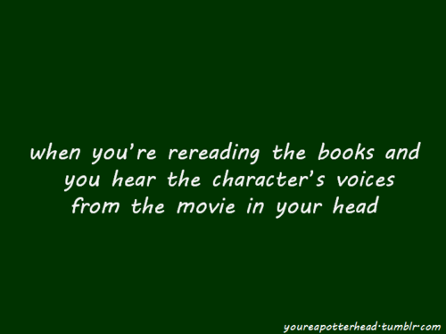 toi Know You're a Potterhead When...