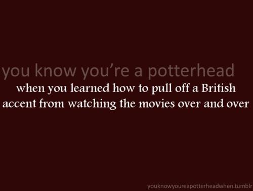 آپ Know You're a Potterhead When...