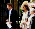 at Zara Phillips' wedding