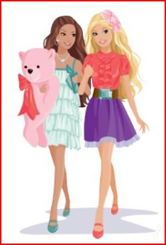 barbie friends