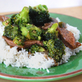 beef &amp; broccoli  - chinese-food photo