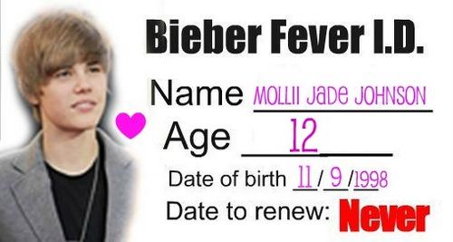 bieber fever id :D x