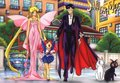 bunny, chibiusa and mamoru - bishoujo-senshi-sailor-moon photo