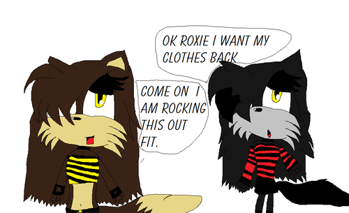danielle and roxie