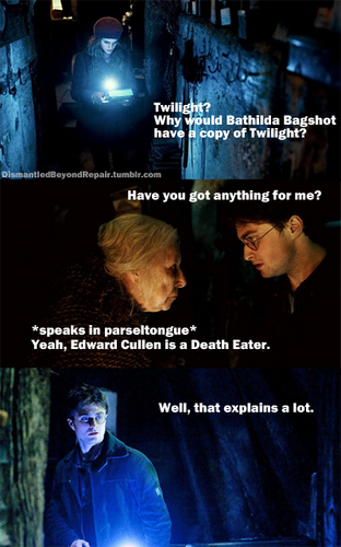 edward is a death eater