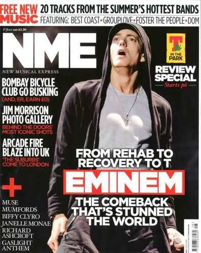 エミネム magazine Cover