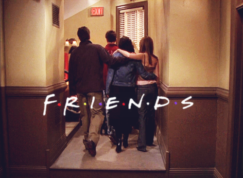 "Mega Post de Gif's ""Friends"" Parte II"