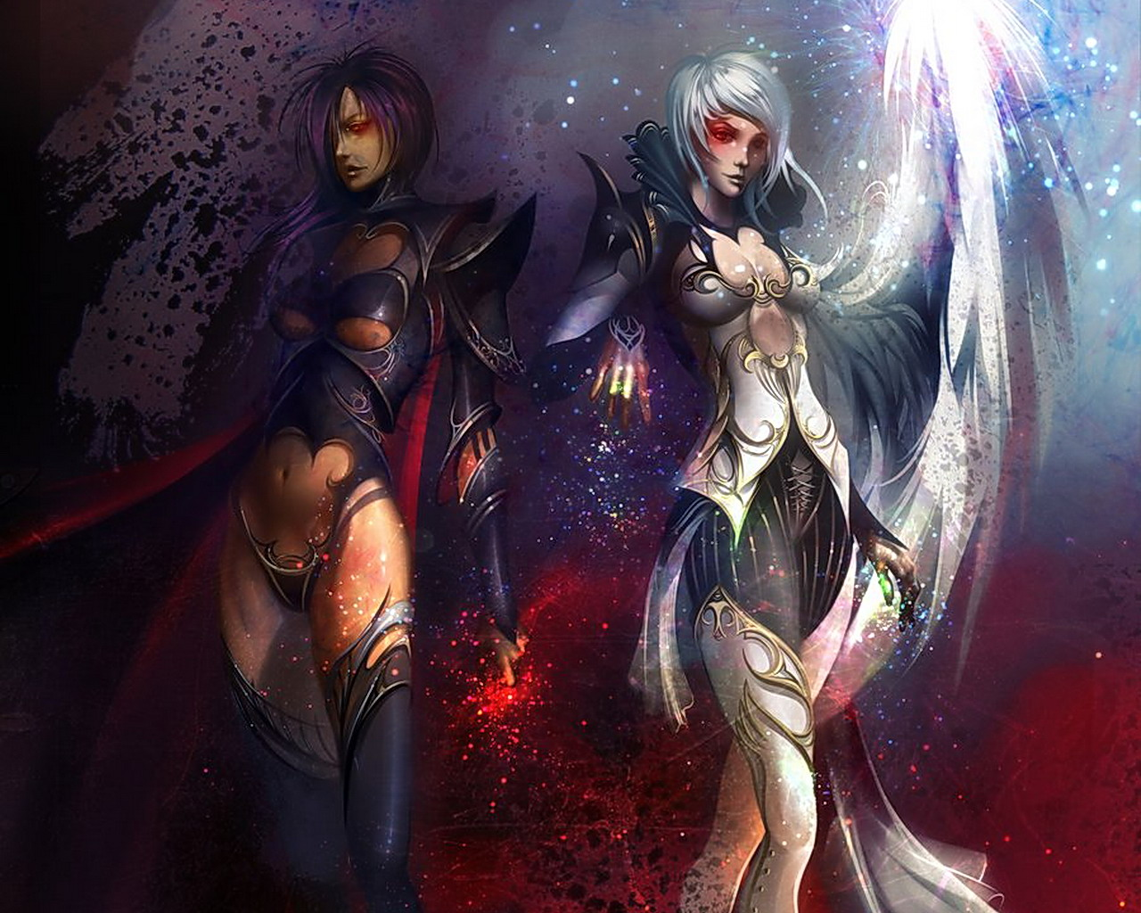 Micketo images good and evil warriors hd wallpaper and background photos