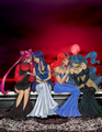 black lady, mistress, queen baryl, nehelenia - bishoujo-senshi-sailor-moon photo