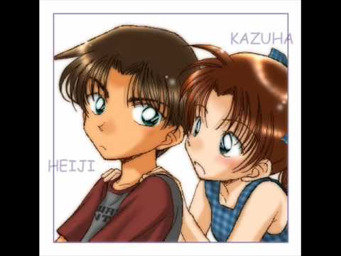 henji and kazuha as kids