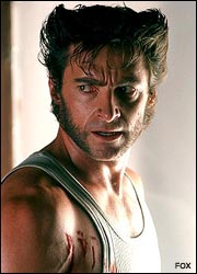 hugh jackman as wolvrine