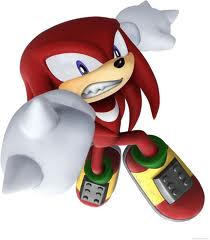 Knuckles the Echidna wallpaper entitled knux