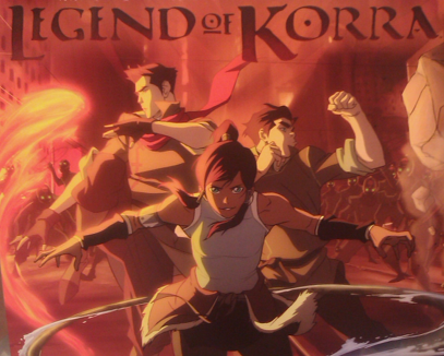 legend of Korra poster