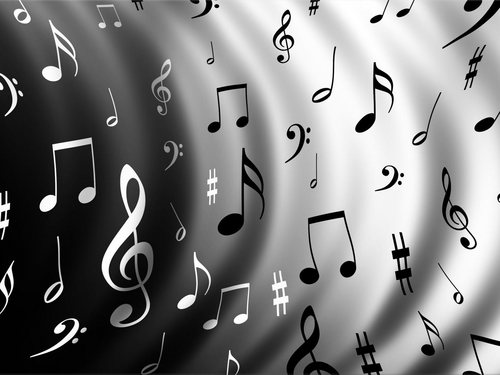 Music wallpaper titled music notes wallpaper