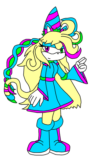 one of my many sonic fancharacters: viola hedgecat