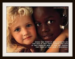 racism is taught; no one is born hateful!