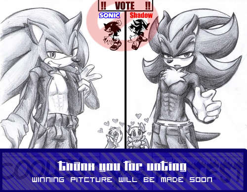 sexy sonic and shadow