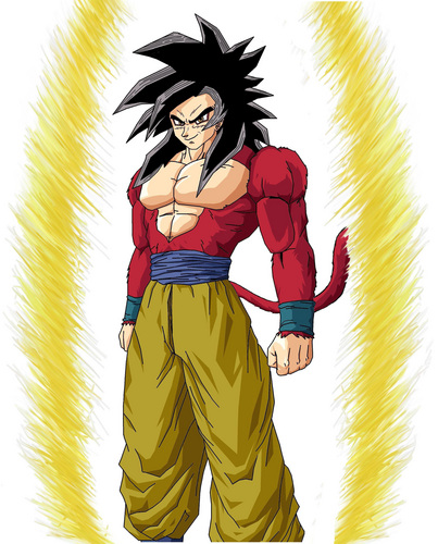 dragon ball z wallpaper with anime titled ss4 goku ricardo98