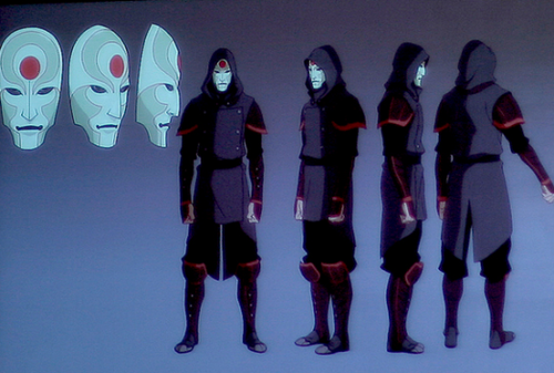 the equalist/ chi bockers P.K.A anti- benders - avatar-the-legend-of-korra Photo