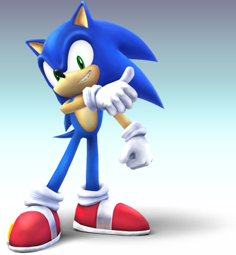 the main character! SONIC!