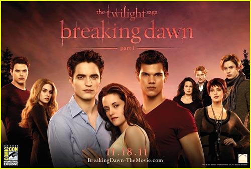 'The Twilight Saga: Breaking Dawn Part I' Banner!