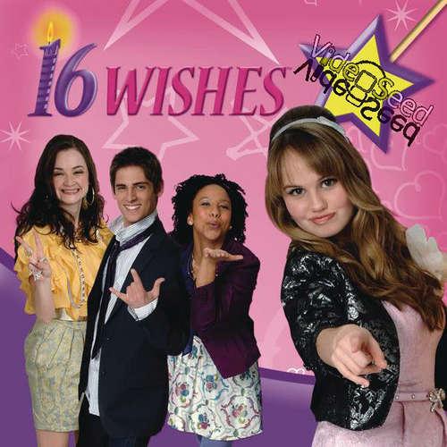 16 Wishes karatasi la kupamba ukuta probably with a portrait called 16 Wishes Cover