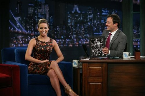2011 August 02: Dianna @ Late Night with Jimmy Fallon