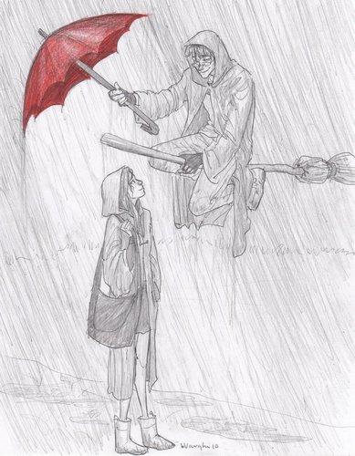 A rainy monday