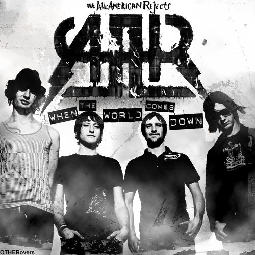 The All-American Rejects wallpaper probably with a sign titled AAR