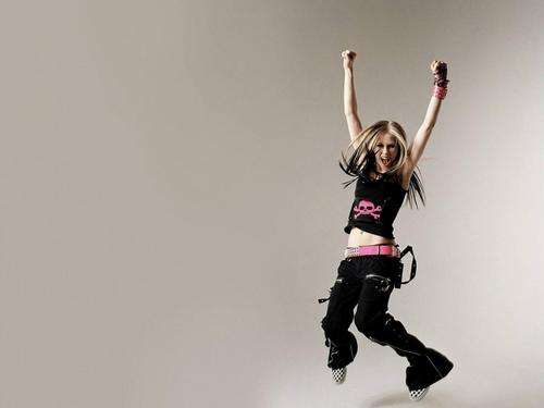 Avril Lavigne wallpaper probably with a hip boot entitled AVRIL LAVIGNE :P