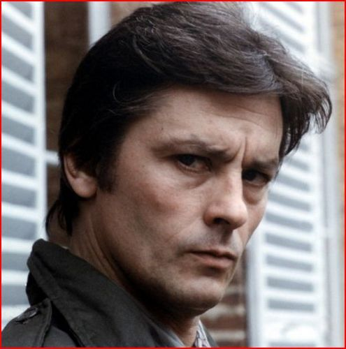 Alain Delon wallpaper probably containing a business suit and a portrait entitled Alain Delon