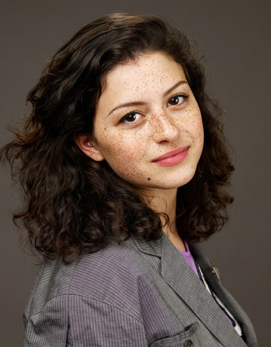 DemolitionVenom wallpaper probably containing a well dressed person, an outerwear, and a portrait titled Alia Shawkat