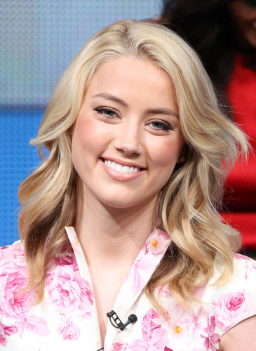 Amber Heard: 2011 Summer TCA Tour