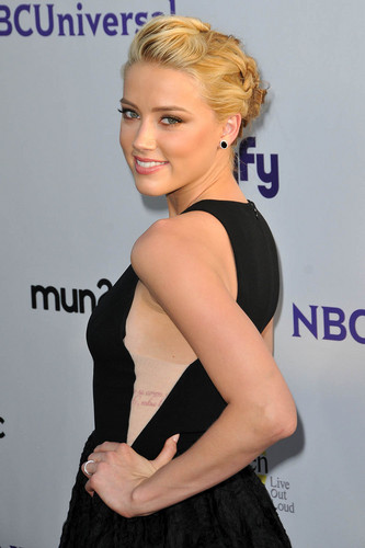 Amber Heard: NBC Universal Press Tour All 별, 스타 Party in Beverly Hills, August 1
