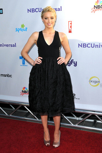 Amber Heard: NBC Universal Press Tour All estrela Party in Beverly Hills, August 1