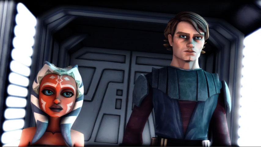 Anakin Skywalker and Ahsoka Tano - Star wars Jedi Photo